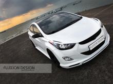 Комплект обвеса Fluxion  на Hyundai Elantra MD