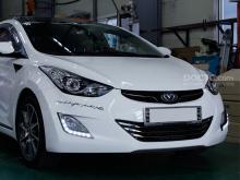 Светодиодные ходовые огни Camily Оригинал на Hyundai Elantra MD