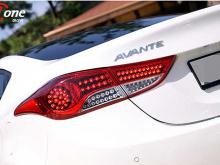 Светодиодные модули задних фонарей Ione  на Hyundai Elantra MD