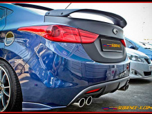 Спойлер на крышку багажника Sequence Spec-GT на Hyundai Elantra MD