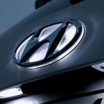 Светодиодная вставка под эмблему LED на Hyundai