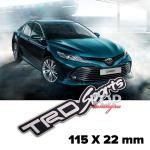 Шильдик эмблема TRD Black 115 x 22 mm на Toyota