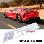 Шильдик эмблема TRD 180 x 35 mm на Toyota