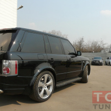 Расширители арок   на Land Rover Range Rover Vogue 3
