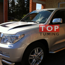 Капот с жабрами Blast на Toyota Land Cruiser 200