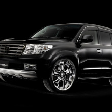 Расширители арок Goldman  на Toyota Land Cruiser 200