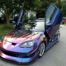 Ламбо двери United Lambo Doors  Bolt ON на Honda Integra DC5