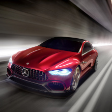 AMG отмечает свой 50-летний юбилей выпуском концепт-кара