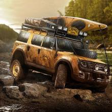 Может ли новый Land Rover Defender так выглядеть?