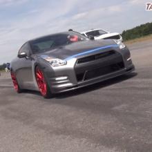 Потеря управления на 2000-сильном GT-R при 350 км/ч звучит ужасающе