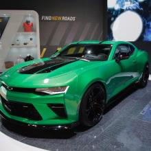 Женева-2017 – трек-концепт Chevrolet Camaro