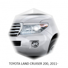 Реснички X-Force для Toyota Land Cruiser 200