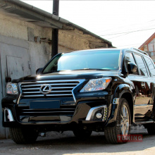 Тюнинг - Обвес WALD Black Bison на Lexus LX570 UJR 200