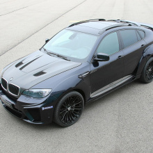 Капот - Тюнинг G-Power Typhoon на BMW X6 E71