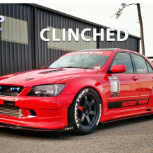 Комплект расширения кузова Clinched Wide Body на Toyota Altezza