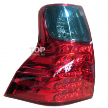 Задние фонари LED Star Red на Toyota Land Cruiser Prado 150