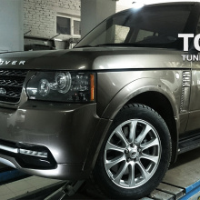 Комплект расширения VERGE Individual (+15mm.) на Land Rover Range Rover Vogue 3