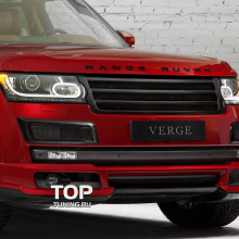Решетка радиатора VERGE  на Land Rover Range Rover Vogue 4