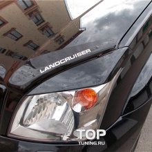 Реснички  TRD  на Toyota Land Cruiser Prado 120