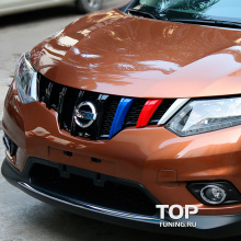 Решетка радиатора TECH Design Imperator на Nissan X-Trail T32