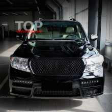 Решетка радиатора  Bentley Style на Toyota Land Cruiser 200