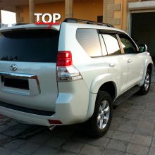 Расширители арок  Titan +30мм. на Toyota Land Cruiser Prado 150