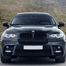 Передний бампер  Performance EXCLUSIVE на BMW X6 E71