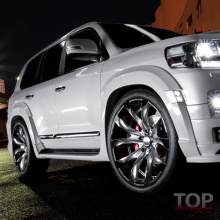 Расширители арок WALD Sports Line на Toyota Land Cruiser 200