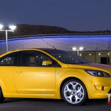 Пороги ST ABS (HB) на Ford Focus 2