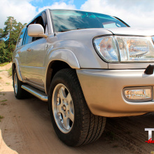 Расширители арок TRD Style  на Toyota Land Cruiser 100