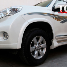 Расширители арок (комплект) 13-17   на Toyota Land Cruiser Prado 150