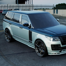 Расширители арок Lemann на Land Rover Range Rover Vogue 4