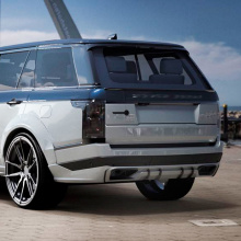 Лип спойлер Lemann на Land Rover Range Rover Vogue 4