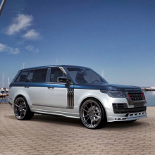 Пороги Lemann на Land Rover Range Rover Vogue 4