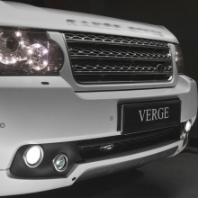 Облицовка юбки VERGE Classic на Land Rover Range Rover Vogue 3