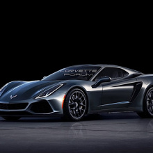 Визуализации среднемоторного Corvette