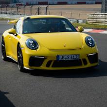 Porsche 991.2 GT3 быстрее, чем Ferrari 488 и GT3 RS на Нюрбургринге