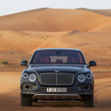Bentley Bentayga Falconry от Mulliner