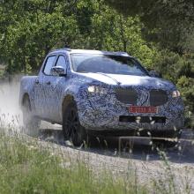 Шпионские снимки внедорожника Mercedes-Benz X-Class