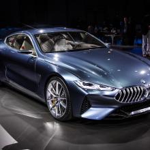 Villa d'Este - концепт 2017 BMW 8 серии