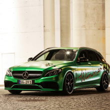 800 л.с. Mercedes-AMG C63 S Estate от Wimmer PCT
