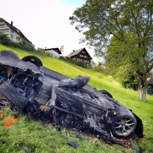 Ведущий Grand Tour Ричард Хаммонд пострадал в аварии на Hemberg Hill Climb