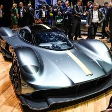 Aston Martin Valkyrie представлен в производственной форме