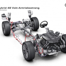 Audi A8 получит электрическую трансмиссию в стандартной комплектации