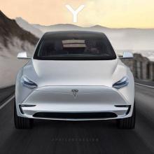 Если Tesla Y будет так выглядеть, то она станет настоящим хитом