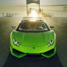 N-Largo Lamborghini Huracan Spyder от тюнинг-ателье Novitec