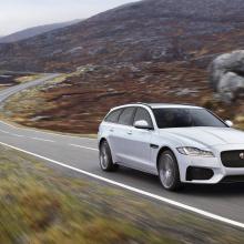 Jaguar представил 2018 XF Sportbrake