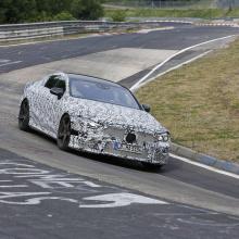Четырехдверный Mercedes-AMG GT на Нюрбургринге