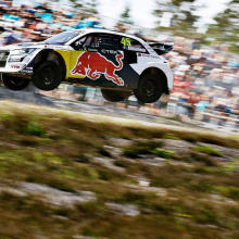 Ралликросс - Кристофферссон победил в World RX Швеция