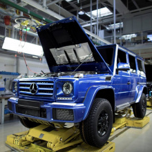 Производственная линия Mercedes-Benz G-Class выпускает 300 000 автомобилей в Австрии